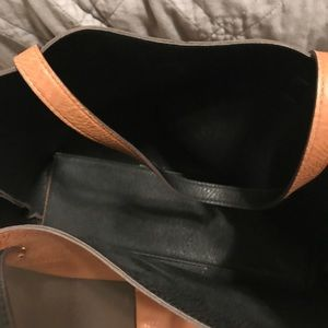 bp Bags - VEUC Nordstrom reversible faux leather tote
